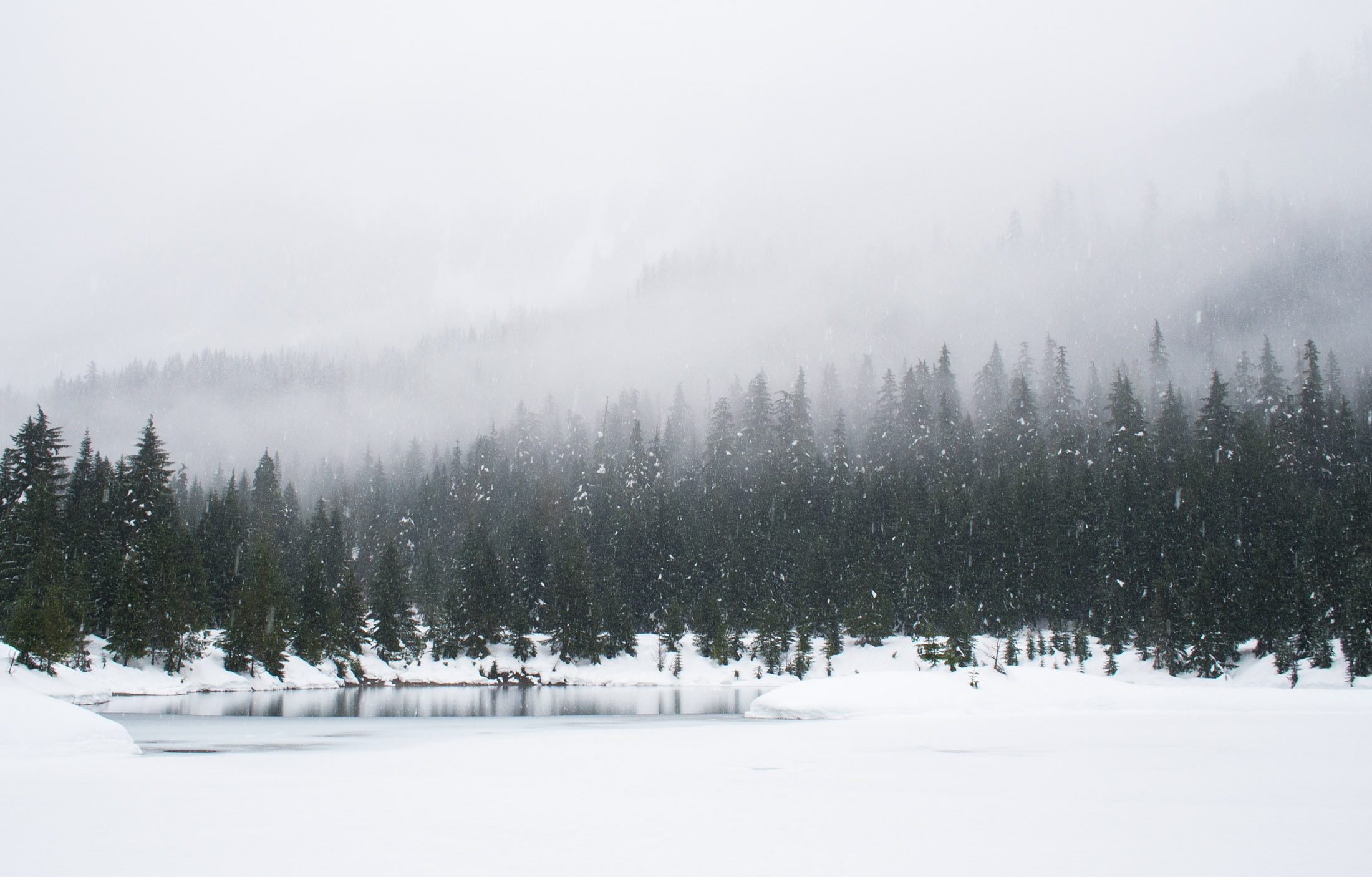 Paysage Neige Froid